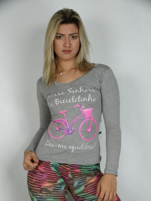 Blusa MLong. Viscol Bike