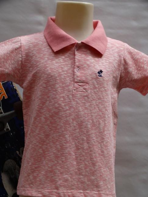 311 - Camisa gola polo infantil