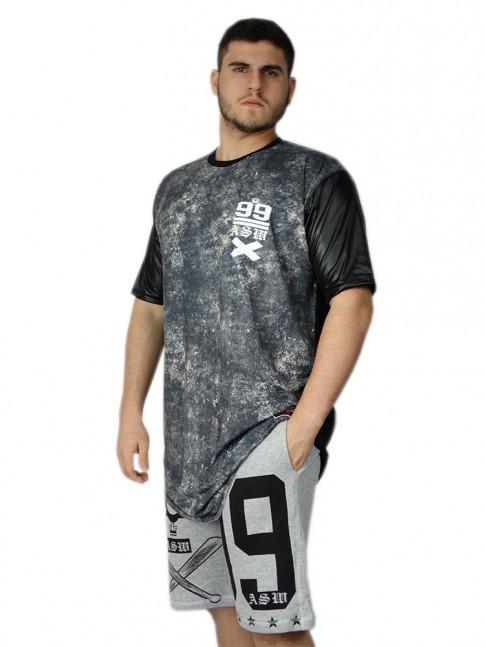 312 - Camisa Swag Longa Dark
