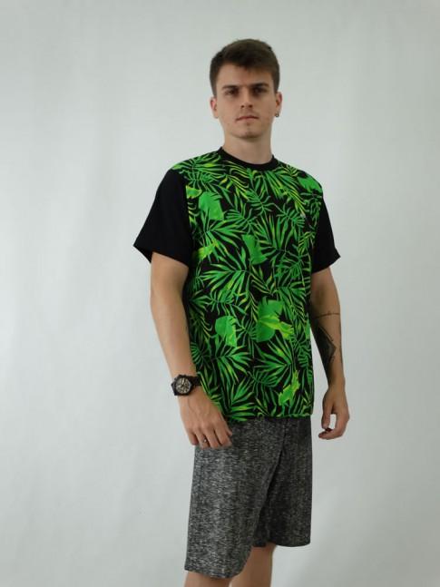 Camisa Masculina em Malha de Algodao