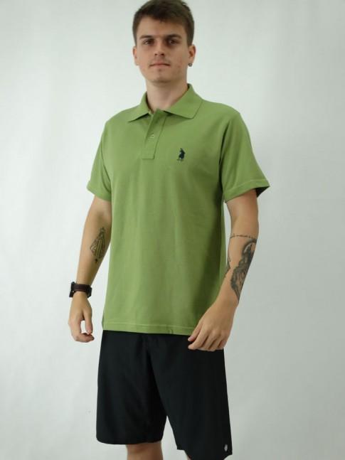 Camisa Polo  Masculina em Malha Piquet