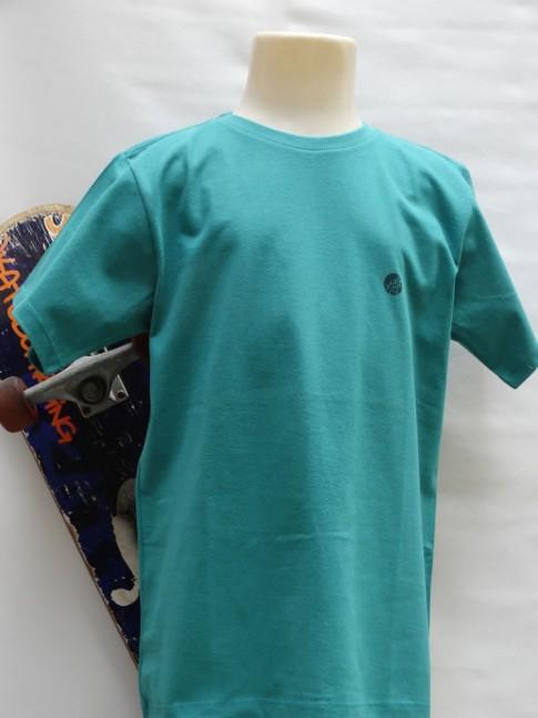 311 - T-shirt infantil em malha costas estampa coqueiro