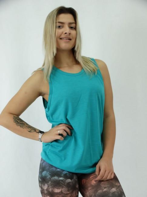 Camiseta Regata Unisex em Malha 100% Algodão