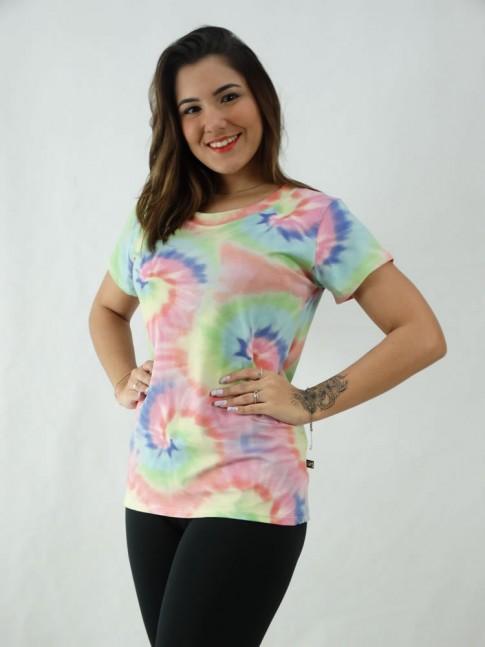 T-Shirt Tie Dye Viscolycra Espiral Colors [2008080]