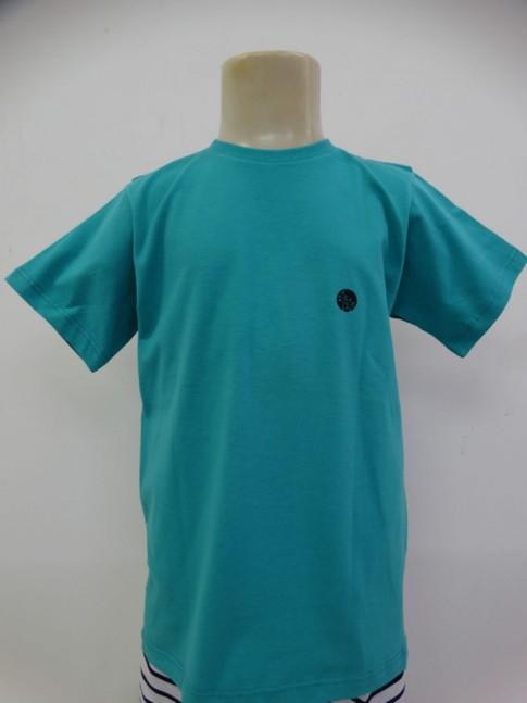 311 - T-shirt Infantil em Malha Costas Estampa Ideia