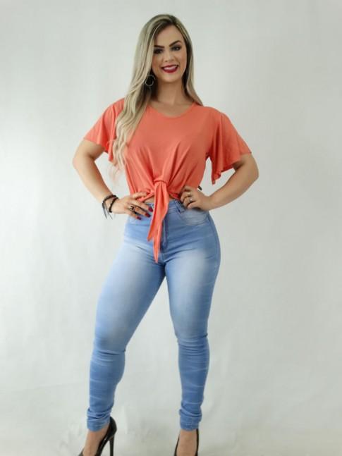 Calça Jeans Claro Skinny Stretch [1909052]