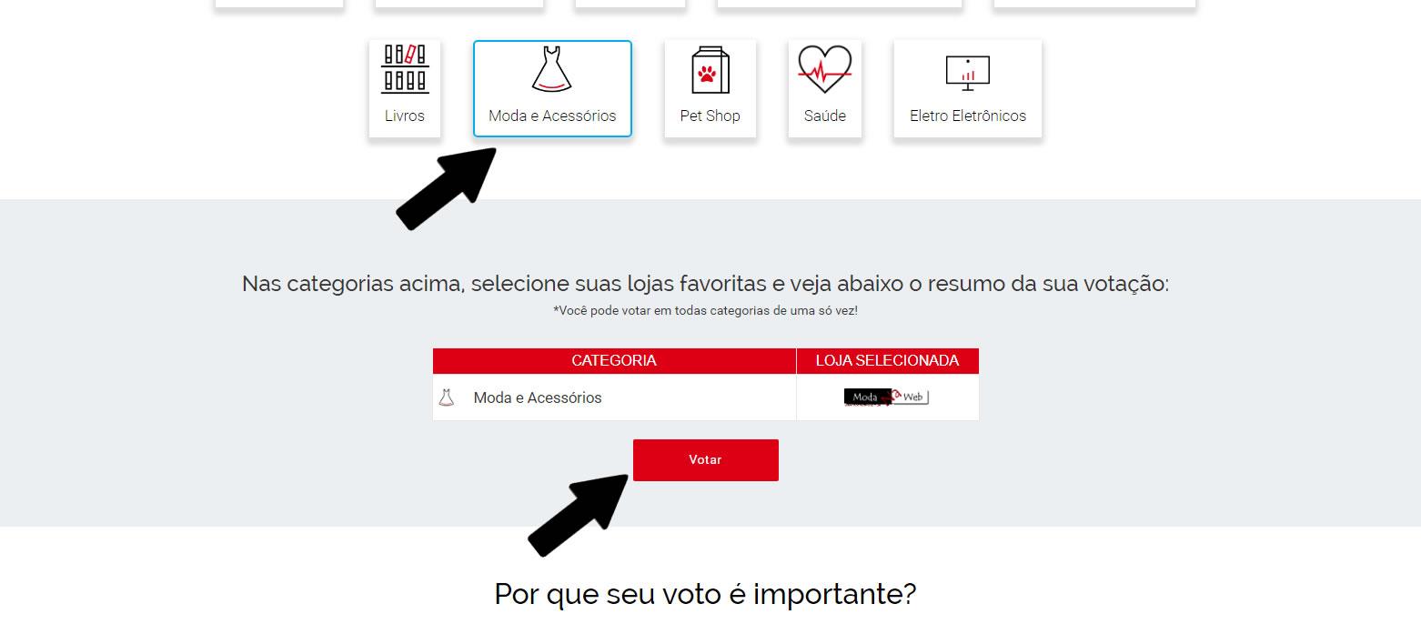 Vote Moda Na Web o E-bit