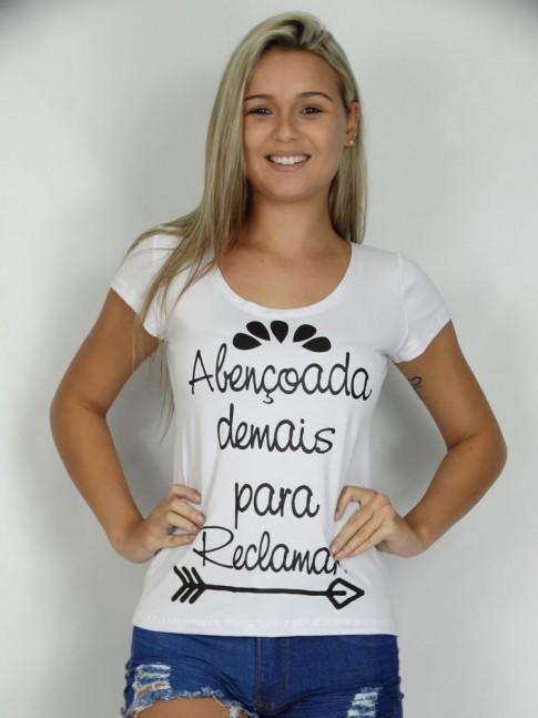 200- T-shirt Abençoada Demais