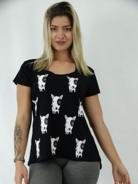 T-shirt em Viscolycra Caezinhos