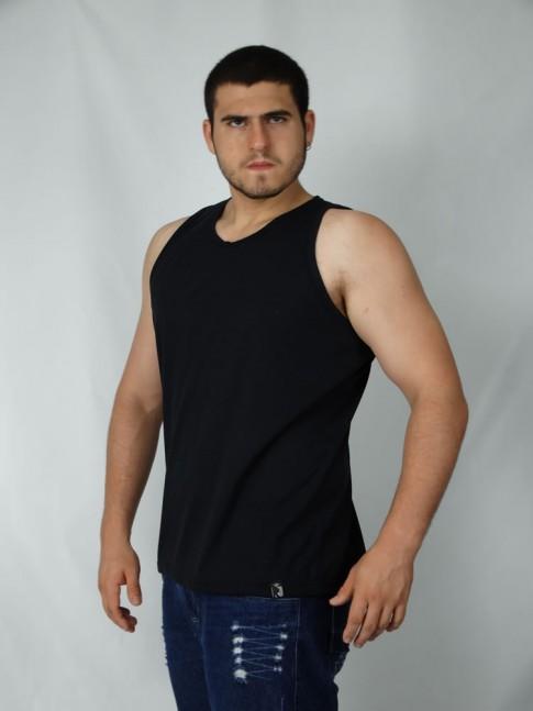 200 -  Camiseta  Regata Masculina em Flame Visco Faille